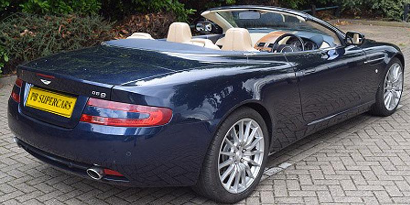 aston martin rental at pb supercars db9 cabriolet. Black Bedroom Furniture Sets. Home Design Ideas