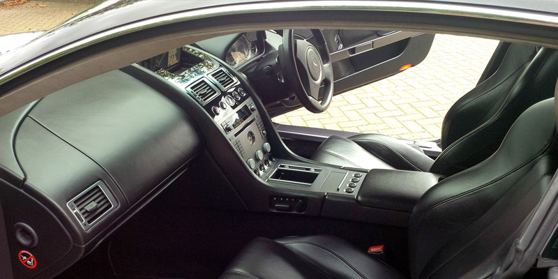 Aston Martin DB9 for hire