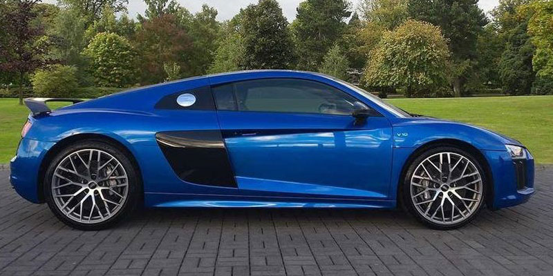 V10 R8 hire options
