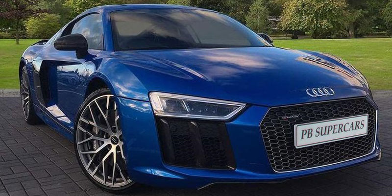 Audi R8 V10 Coupe Generation 2 Model