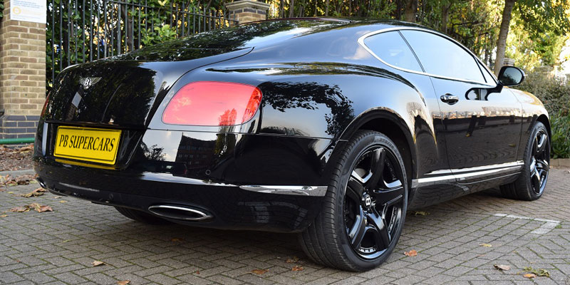 Hire a Bentley GT Continental online at PB Supercars