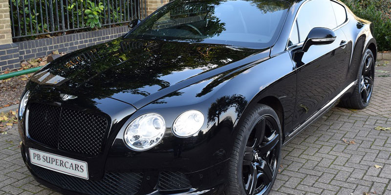 Bentley rental online with PB Supercars