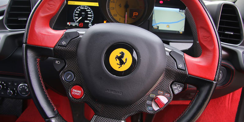 Hire a Ferrari at great prices online at PB Supercars
