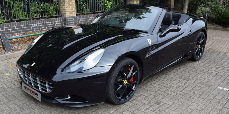 Ferrari Hire at PB Supercars. Hire this California