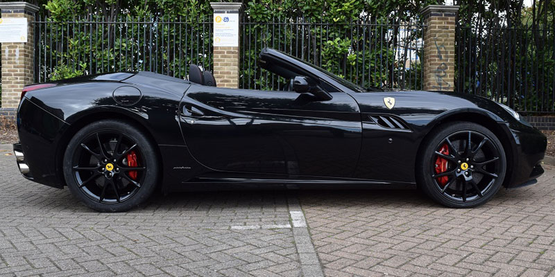 Ferrari car hire. Hire this California at PB Supercars