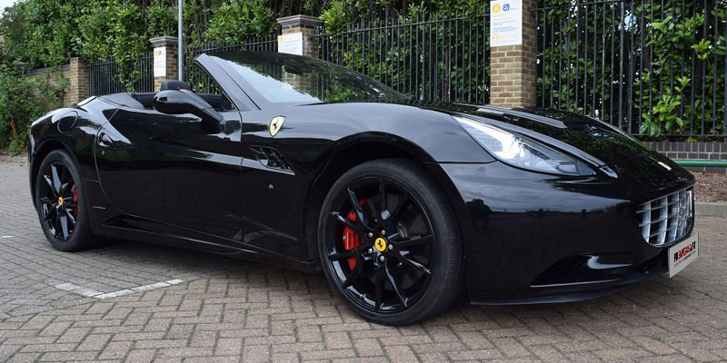 Ferrari rent at PB Supercars. Rent this Ferrari California today