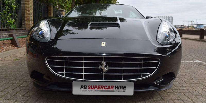 See this Ferrari California at PB Supercars. Ferarri hire online