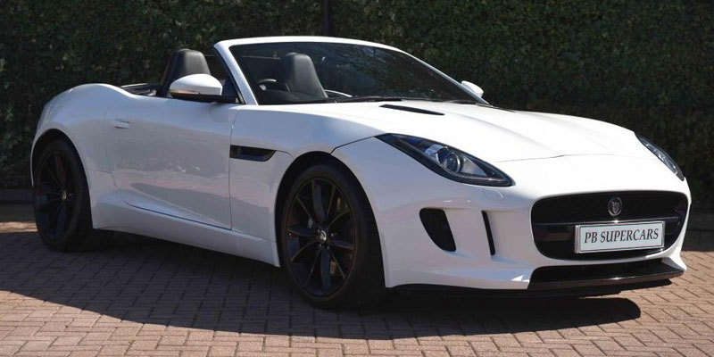 Jaguar F-Type Hire Front