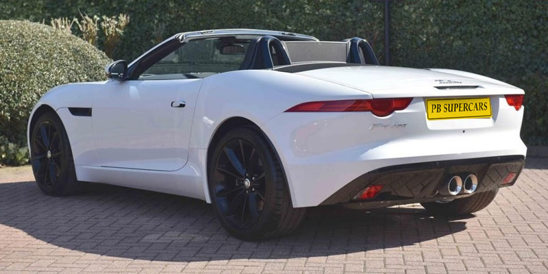 Jaguar F-Type Hire Rear