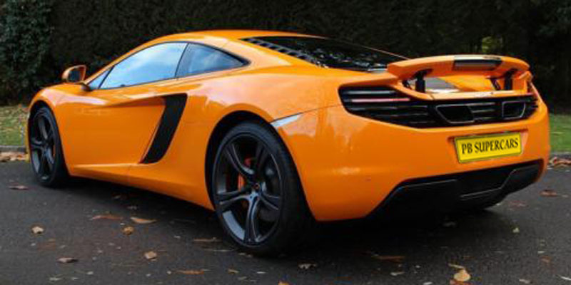 Mclaren MP4 Coupe