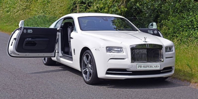 Rolls Royce Hire Drivers Door