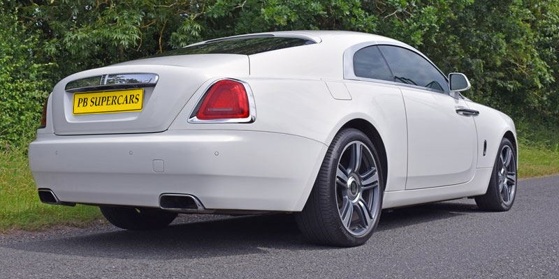 Rolls Royce Hire Drivers Rear