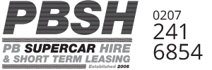 PB Supercars Hire and Short Term Leasing Logo